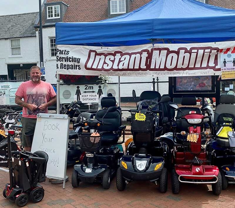 mobility scooter ely markets