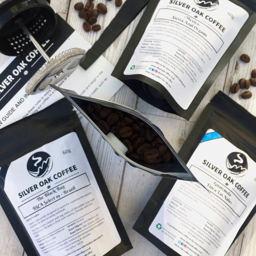 silver oak coffee ely market